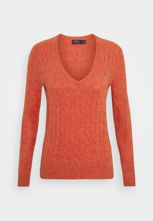 Jumper - orangey red