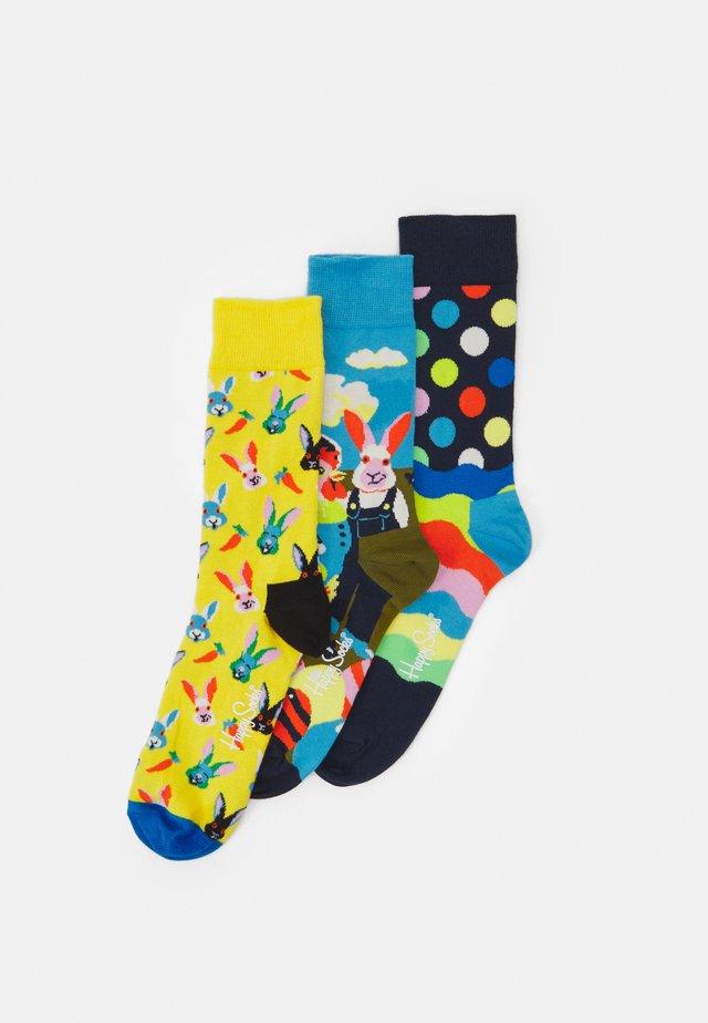 EASTER SOCKS GIFT SET 3 PACK UNISEX - Socks - multicoloured