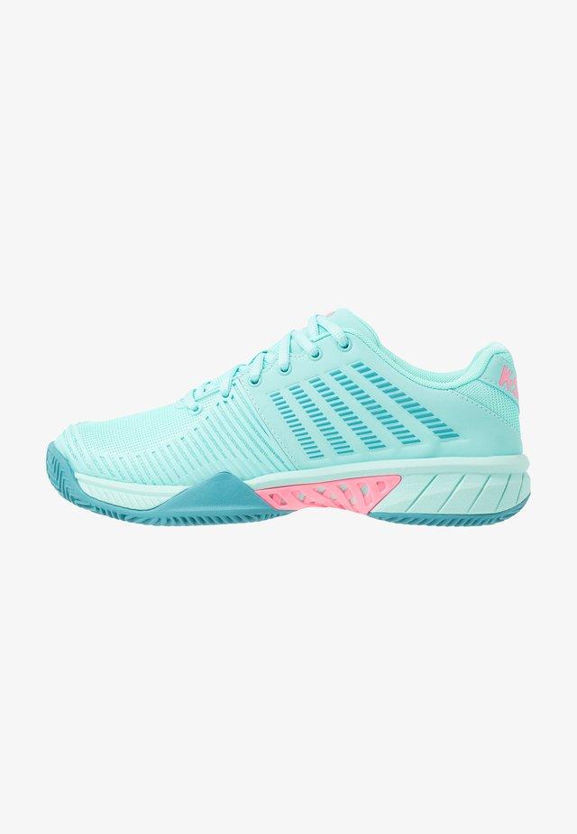 EXPRESS LIGHT 2 HB - Tennisskor för grus - aruba blue/maui blue/soft neon pink
