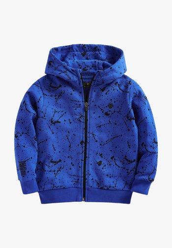 Zip-up sweatshirt - blue-grey