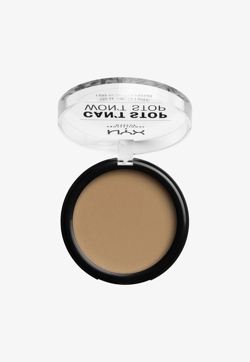 Nyx Professional Makeup - CAN'T STOP WON'T STOP POWDER FOUNDATION - Powder - CSWSPF15 caramel