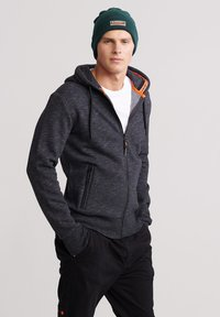Superdry - Zip-up hoodie - black - 0