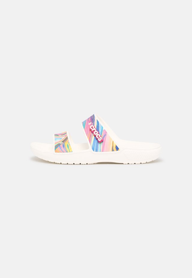 CLASSIC OUT OF THIS WORLD - Badslippers - multi/white