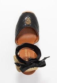 Kurt Geiger London - KARMEN - High heeled sandals - black - 3