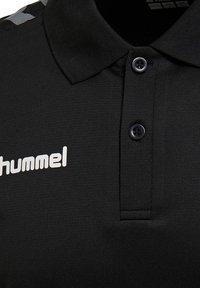 Hummel - HMLAUTHENTIC FUNCTIONAL  - Polo shirt - black/white - 3