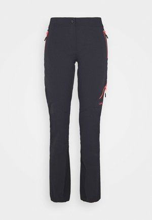 WOMAN PANT - Trousers - antracite