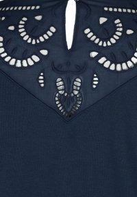 Zizzi - Sweatshirt - blue - 5