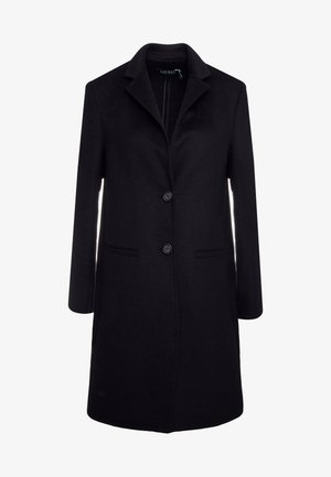 DOUBLE FACE REEFER - Manteau classique - black