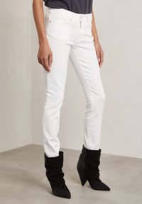Hunkydory - Slim fit jeans - frosty chalk - 0