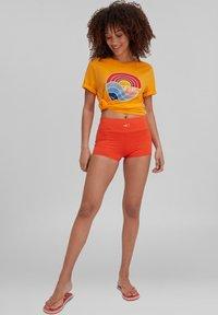 O'Neill - SUNRISE - T-shirt print - blazing orange - 0