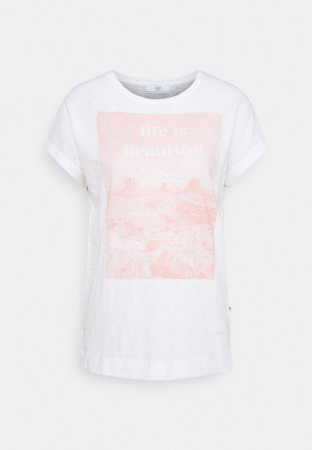 THAMIS - T-shirts print - azalea