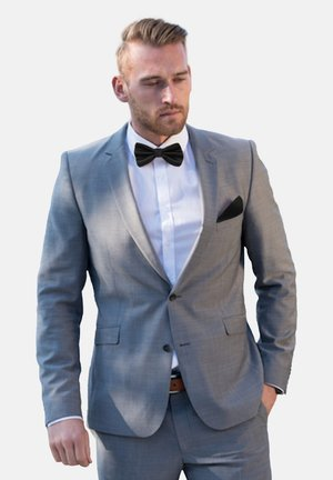 2 PIECE SET - Pocket square - schwarz