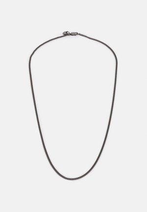DESIGN UNISEX - Ketting - black silver-coloured