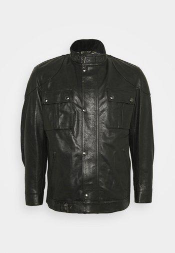 Kožená bunda - black