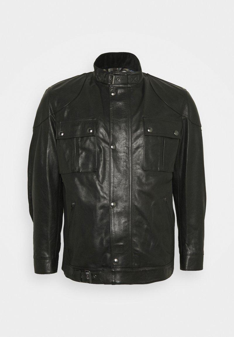 Belstaff - Leather jacket - black