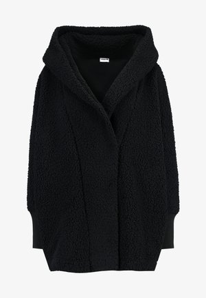 NMCUDDLE COATIGAN - Winter coat - black