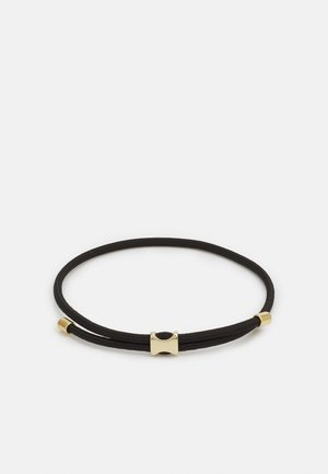 ORSON PULL BUNGEE ROPE - Bracelet - black/gold-coloured