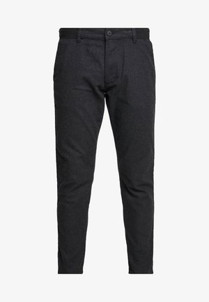 BRUSHED - Pantaloni - anthracite
