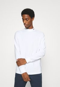 GAP - LOGO MOCK - Long sleeved top - fresh white - 0