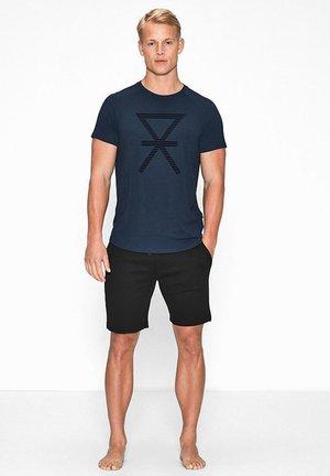 T-shirt basic - marineblue