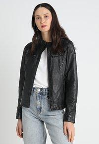 Oakwood - LINA - Leather jacket - black - 0
