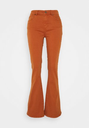 TARA  VINTAGE - Flared Jeans - nuts