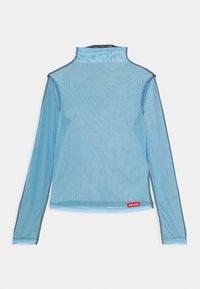Local Heroes - JOLIE TURTLENECK - Long sleeved top - black/light blue - 0