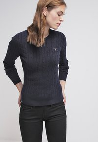 GANT - CABLE CREW - Pullover - evening blue - 3