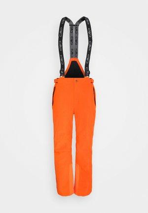 Snow pants - orange fluo