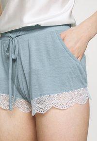 Etam - WARM DAY SHORT - Pantaloni del pigiama - blue-grey - 3