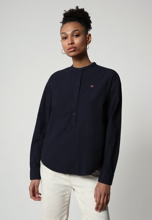 GHIO - Long sleeved top - blu marine