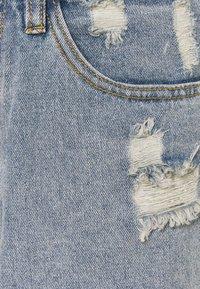 Missguided Tall - DISTRESS - Denim shorts - blue - 2