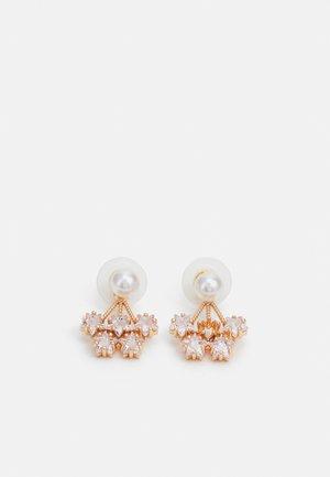 TRECLYA - Boucles d'oreilles - ivory/clear/gold-coloured