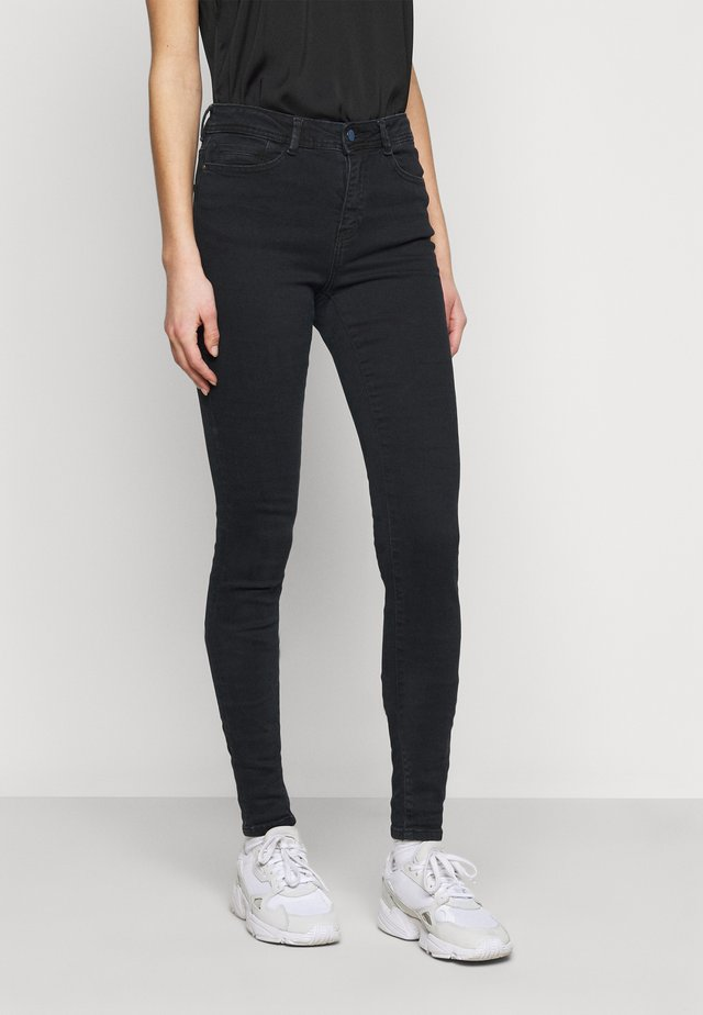 LUCY  - Jeans Skinny Fit - blue black denim