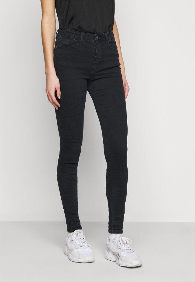 LUCY  - Jeansy Skinny Fit - blue black denim