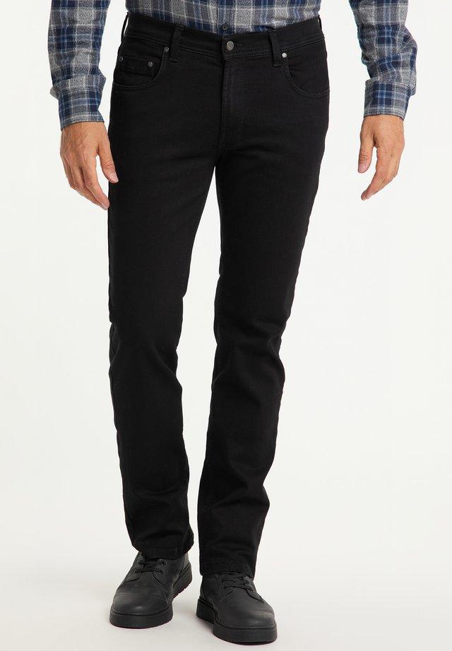 RANDO - Straight leg jeans - black