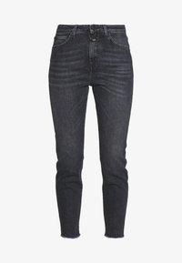 CLOSED - BAKER HIGH - Slim fit jeans - dark grey - 5