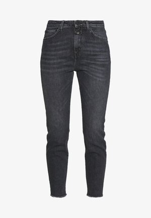 BAKER HIGH - Vaqueros slim fit - dark grey