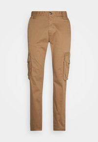 TOM TAILOR - Cargo trousers - dusty caramel brown - 3