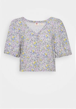 HOLLY BLOUSE GARDEN DITZY - Blouse - monrovia lavender / frost