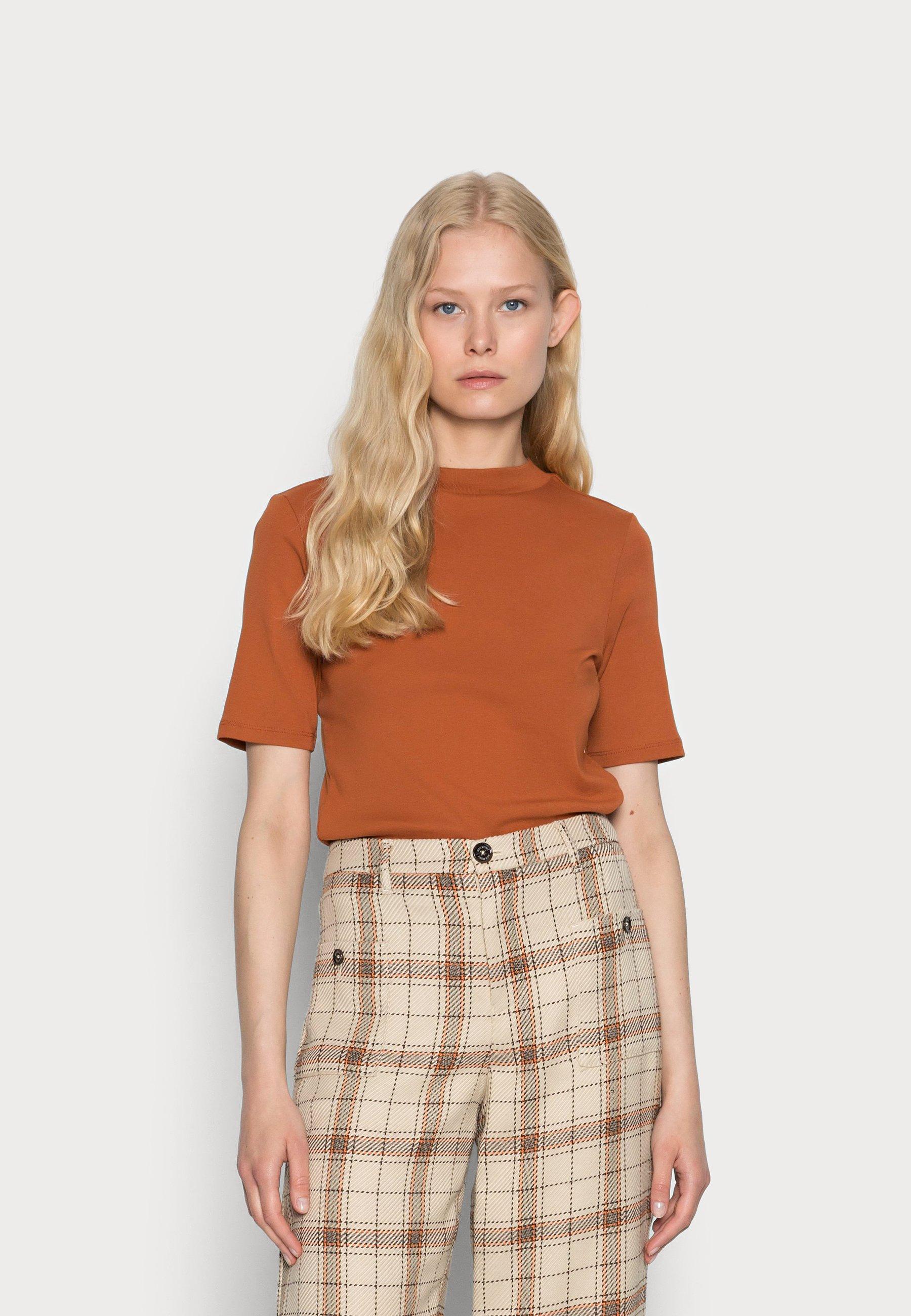 Damen MOCK NECK - T-Shirt basic
