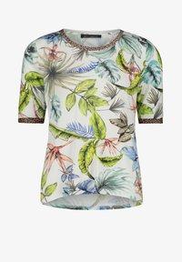 Betty Barclay - MIT BLUMENPRINT - Print T-shirt - cream/petrol - 3