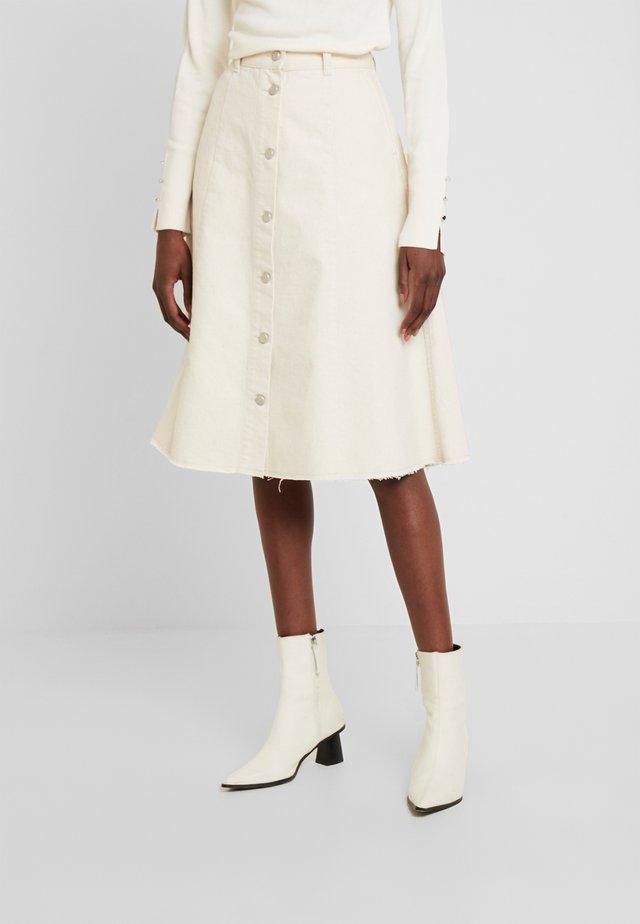 EVE - A-line skirt - egret