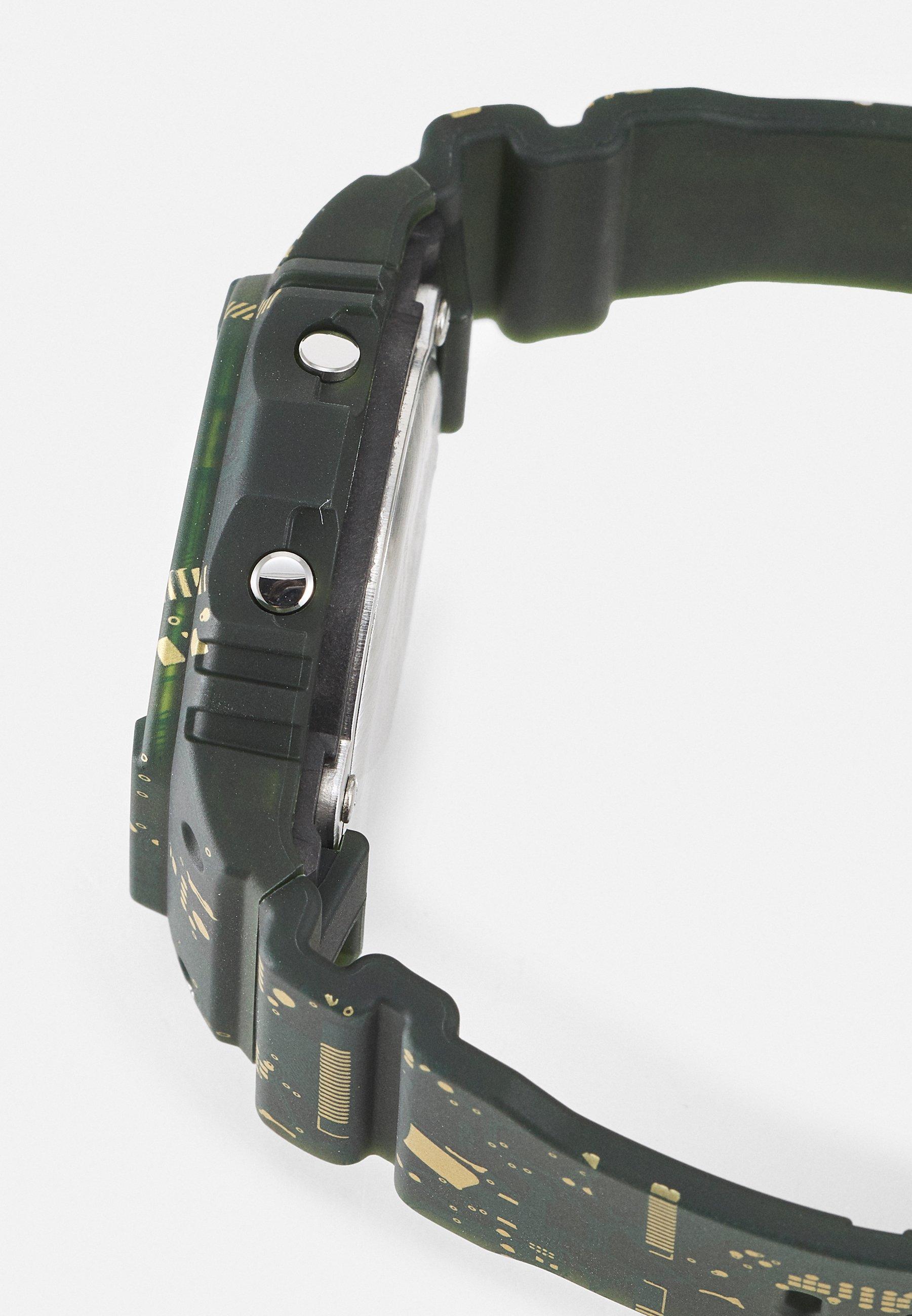 Homme CIRCUIT BOARD CAMOUFLAGE DWE-5600 SET - Montre à affichage digital