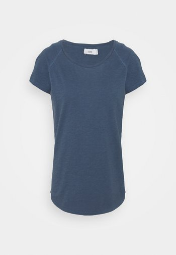 Basic T-shirt - blue slate