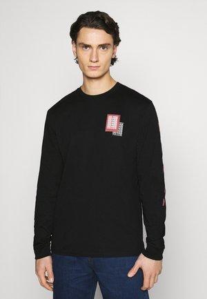CONCUSSION - T-shirt imprimé - black