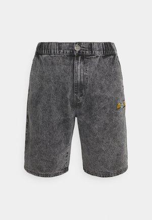 REMY - Denim shorts - black over dye