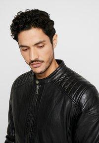 Freaky Nation - BLUERACY - Leather jacket - black - 3