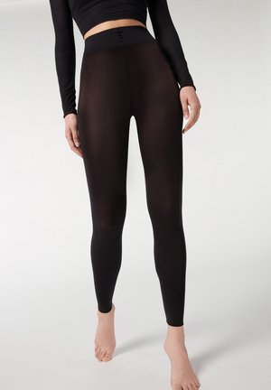 BLICKDICHTE SOFT TOUCH TOTAL COMFORT LEGGINGS - Tights - black