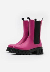 Koi Footwear - VEGAN SENTRY - Platform boots - pink - 2